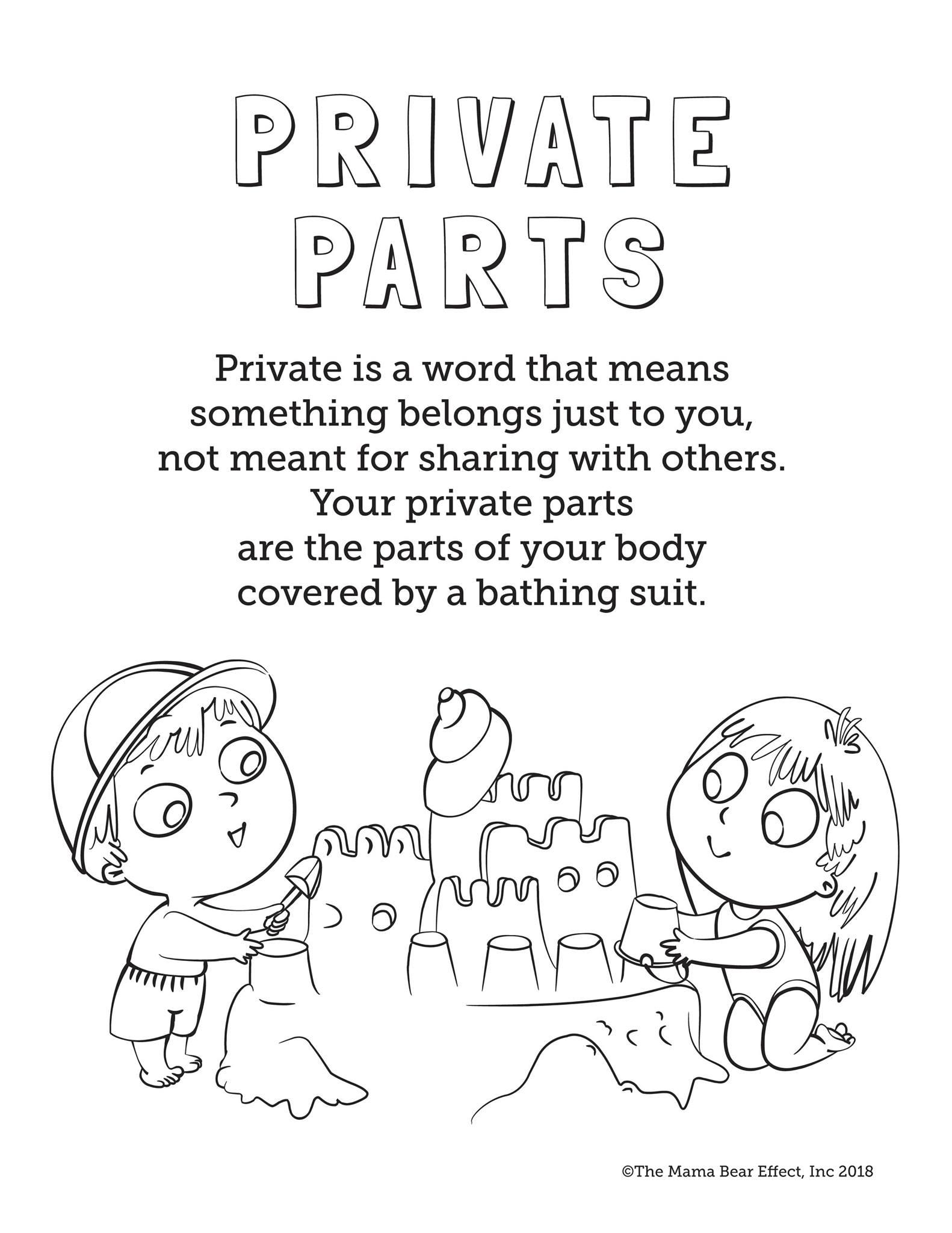 Private parts privacy